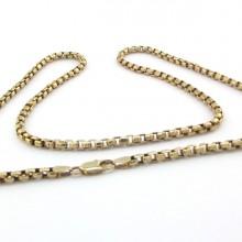 billig 50cm guld halskæde til mænd kraftig brugt guldhalskæde