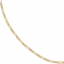 Figaro guldkæde 8karat 1,8mm. Guldhalskæde i figaro design 333 guld