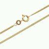 Guld Panserkæde 1,6 mm 8 karat guld 333 Billige guldsmykker