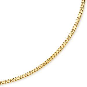 Panserkæde i 333. 8 karat panser guldhalskæde