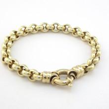 Ærtekæde guld armbånd i 14 karat - Brugt guld armbånd