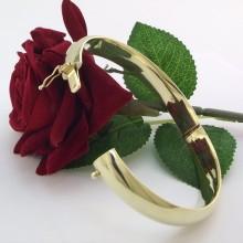 Solid guld armring i mesterlig udførelse - Brugt guld armbånd