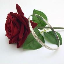 Vintage armring i Sølv - billige sølv armbånd til salg