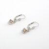 Brilliant øreringe 0,40 Ct. i 14 karat guld. Billige guld øreringe med brillianter til salg