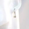 Billige brilliant øreringe 0,40 Ct. i 14 karat guld. Billige guld øreringe med brillianter til salg