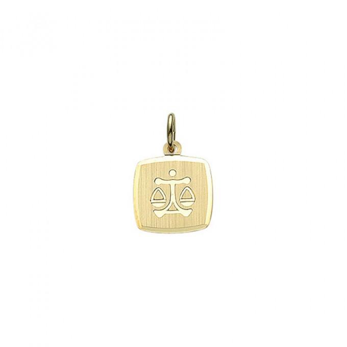 Guld stjernetegn Vægt. Billigt smykke med stjernetegnet vægten til mænd og kvinder.