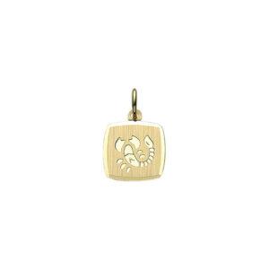 Guld stjernetegn skorpion. Billigt smykke med stjernetegnet skorpionen til mænd og kvinder.