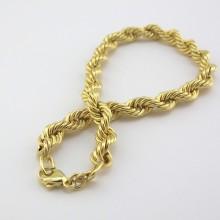 Kraftigt guld armbånd i Bjørn Borg design