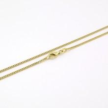 Panser guld halskæde til børn