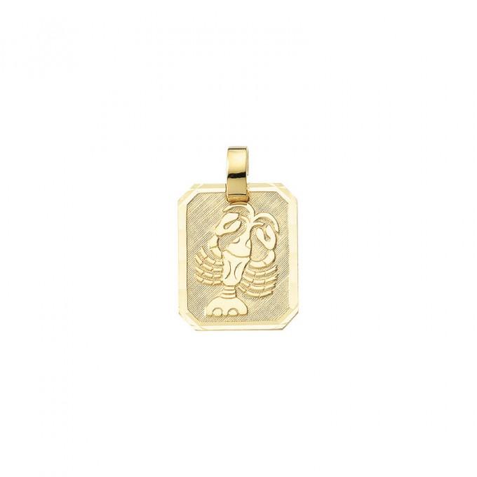 Smykke til Krebsens stjernetegn. Guld vedhæng m. krebs tegn. billig stjernetegn smykke til salg