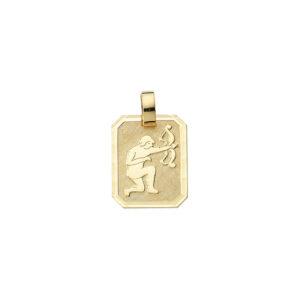 Smykke til Skyttens stjernetegn. Guld vedhæng m. skytte tegn. billig stjernetegn smykke til salg
