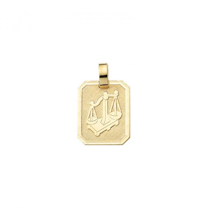 Smykke til Vægtens stjernetegn. Guld vedhæng m. vægt tegn. billig stjernetegn smykke til salg