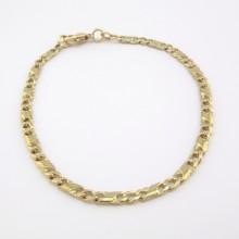 Guld armbånd i 8 karat Unisex - Brugt guld armlænke