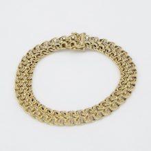 Bismark guld armbånd billigt til salg. Brugt Bismarck armbånd sælges. pulze smykker