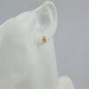 Elegante guld ørestikkere med cirkler. Brugte guld øreringe. Køb billige guldsmykker hos Pulze