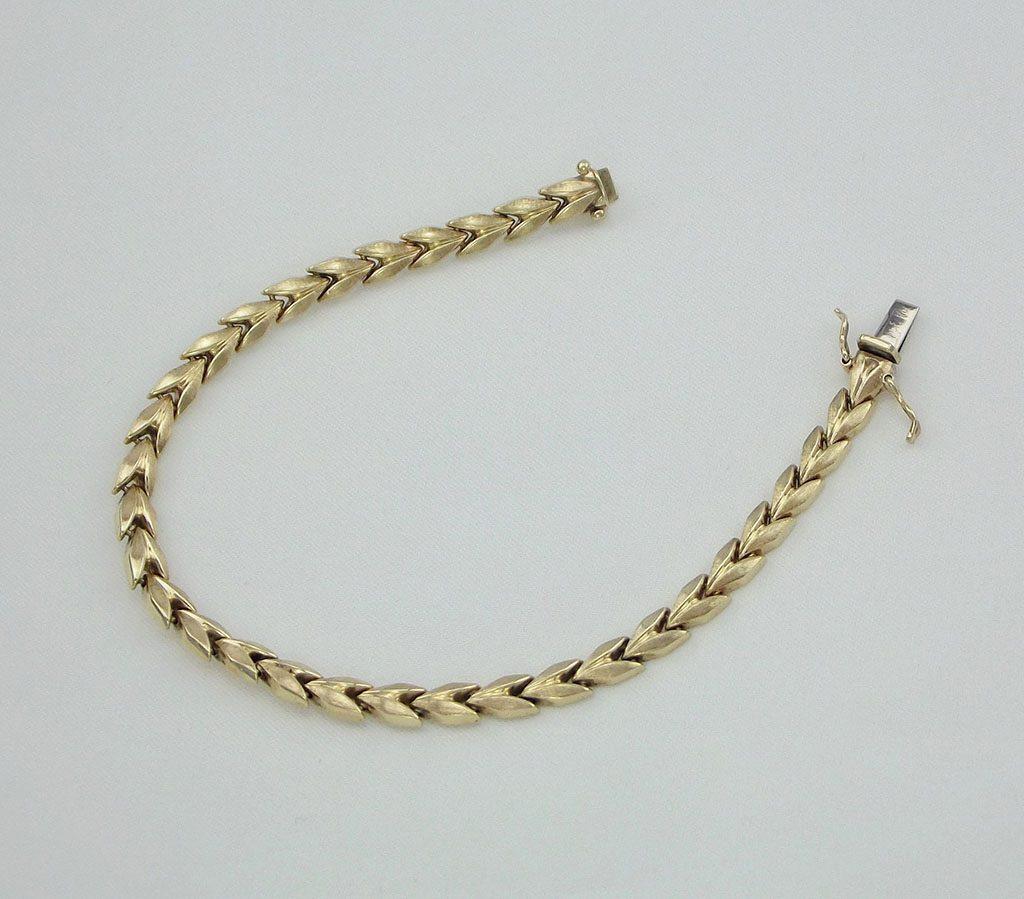 brugt guld armbånd