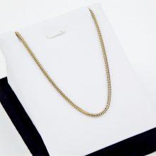 Kraftig slange guld halskæde - Brugt slangekæde 8 karat guld
