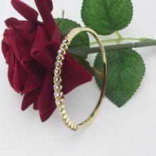 1.25 ct Brillant armbånd 14 karat guld brugt til salg
