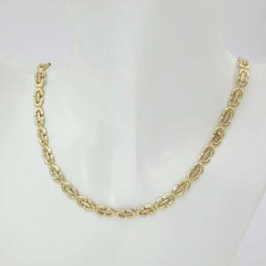 Designer halskæde i 14 karat guld - Billige guldkæder