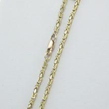 Brugt Kongekæde armbånd i 8 karat guld - 2 mm. kongekæde armlænke