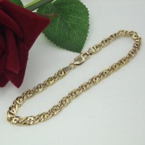 Brugt armbånd fremstillet i 8 karat guld, som kan benyttes af både mænd og kvinder.