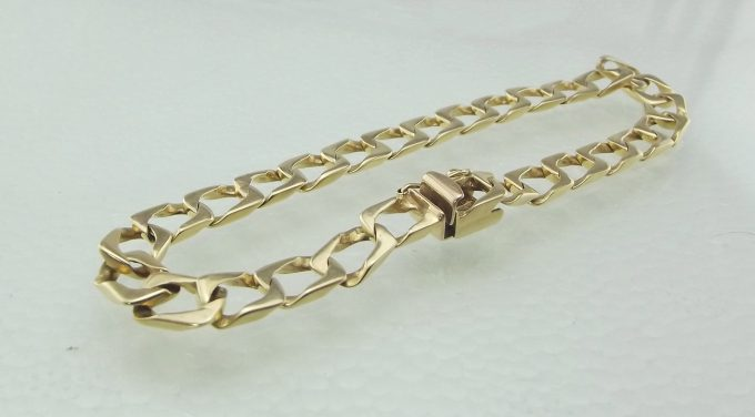 Guld armbånd 14 karat UNISEX Juveller kvalitet
