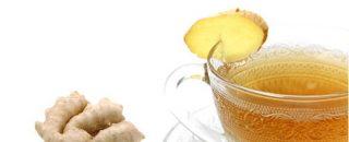 Ingefærshot opskrift - ingefær drik med citron og gurkemeje