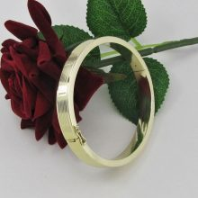 Eksklusiv massiv Armring i 14 karat guld, Brugt guld armbånd