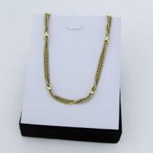 Feminin guld halskæde i 14 Karat 43 cm.