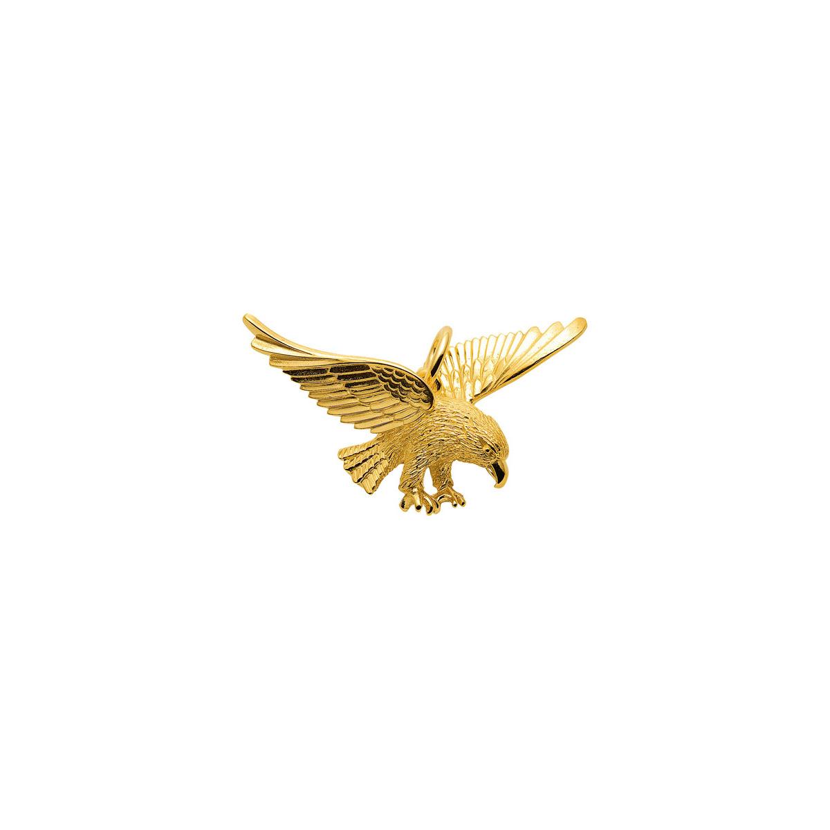 Ørn guld vedhæng