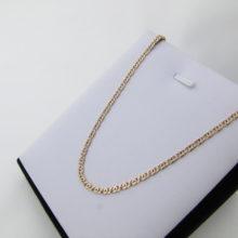 50 cm design guld halskæde 8 karat billigt til salg