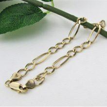 Figaro guld armbånd