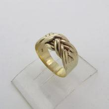 Herrering - Dansk Soldater Cypern Ring 14 karat guld - guldring til mænd