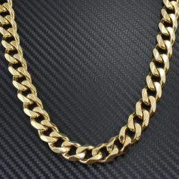 Panser halskæder guld panserkæder