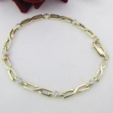 Diamant armbånd 1.05 Ct. i moderne look, brugt & billigt