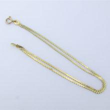 To-delt 14 karat guldarmbånd - Brugt guld armbånd til salg