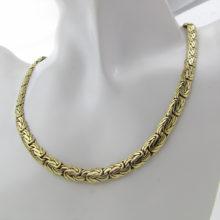 Juveler kongekæde smukt udført i 8 karat guld