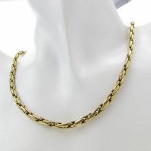 Lækker kraftig guld halskæde i 14 karat guld, brugt guldkæde i 585 guld, Brugt guld halskæde til salg.14 karat halskæde .