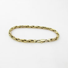 Lækkert guld armbånd i 14 karat guld