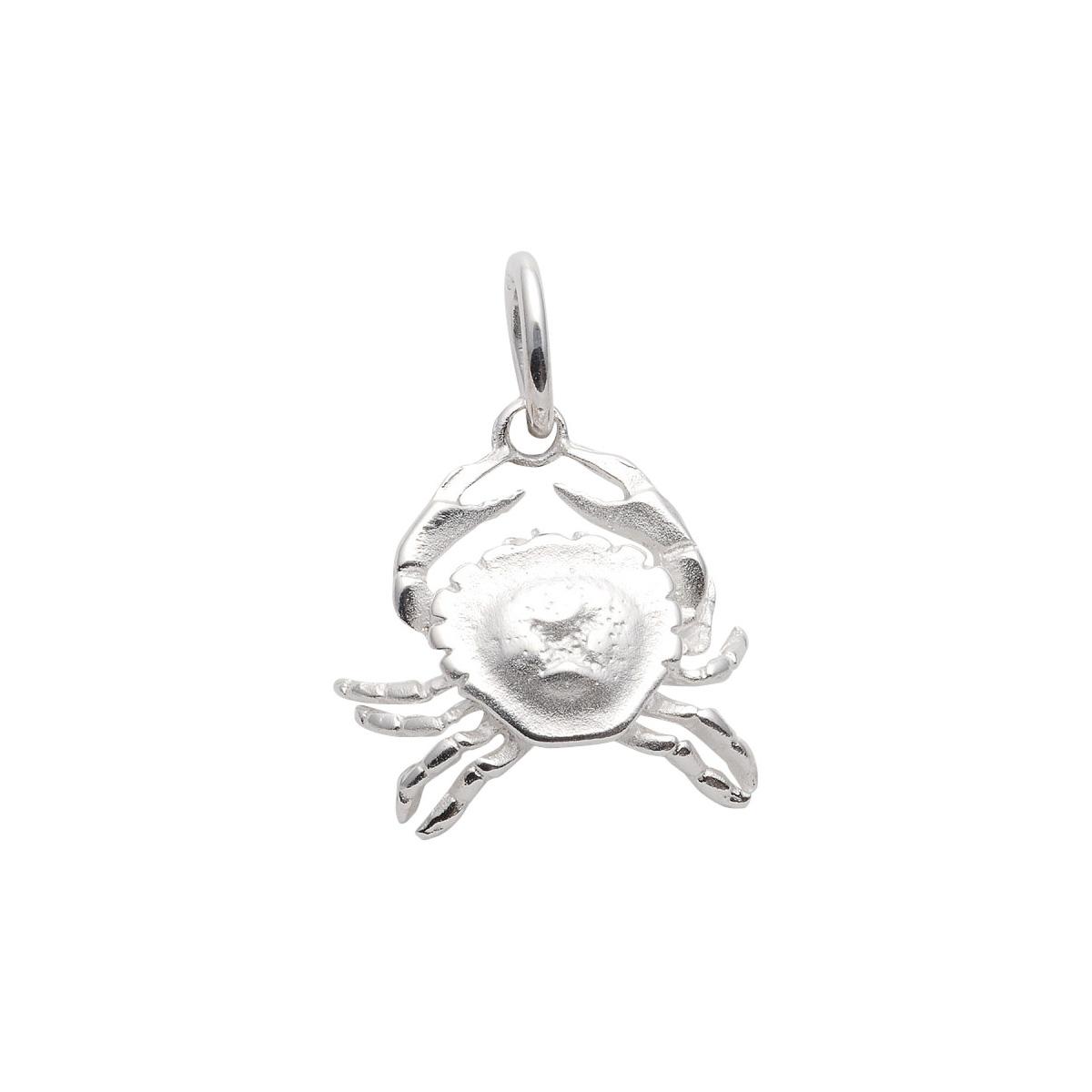 97-Sølv Krebs vedhæng med stjernetegnet krebsen. Sterling Sølv vedhæng til salg