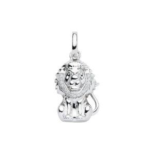 99-LØVE sølv vedhæng - Løvens Stjernetegn som sølv vedhæng til halskæder