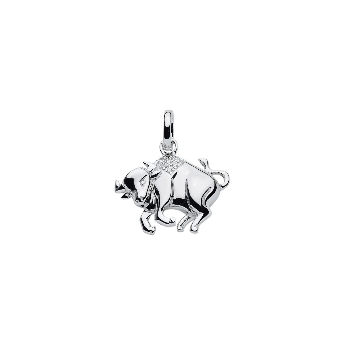 99-TYR sølv vedhæng - Tyrens Stjernetegn som sølv vedhæng til halskæder