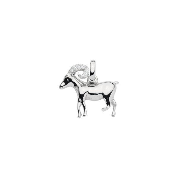 99-VÆDDER sølv vedhæng - Vædderens Stjernetegn som sølv vedhæng til halskæder