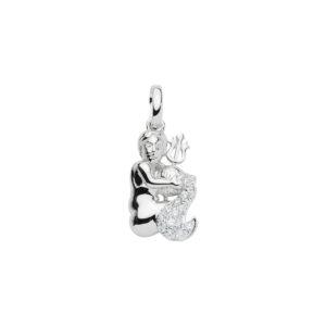 99-VANDMAND sølv vedhæng - Vandmandens Stjernetegn som sølv vedhæng til halskæder
