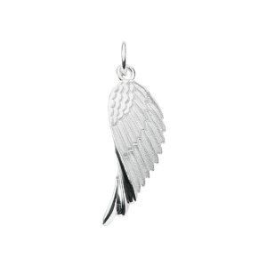 Vinge i sølv fuglevinge ørnevinge eller måske en englevinge?