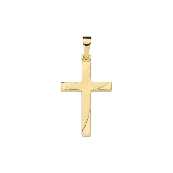Kors guld vedhæng 8 karat guldkors 14 k